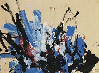 Peinture du chaimpanze Congo